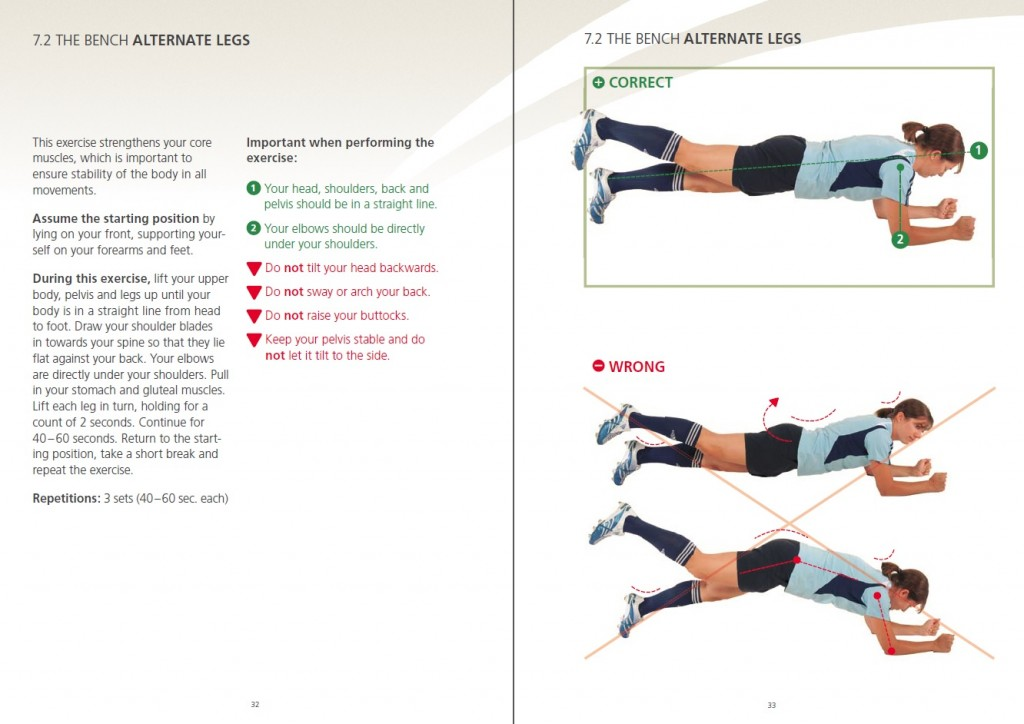 Plank with Leg