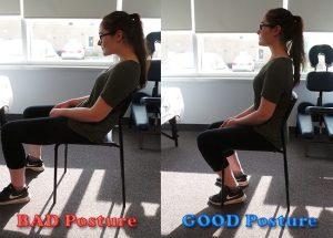 Sitting Back Posture Sheddon Physio Sports Clinic Oakville Mississauga